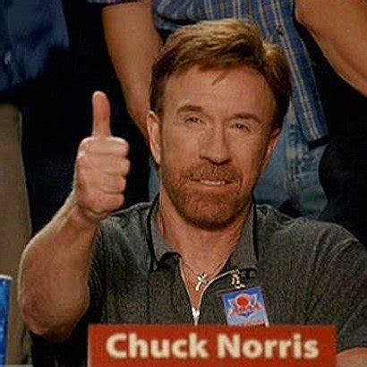 Thumbs Up Meme - chuck norris thumbs up no problem meme generator