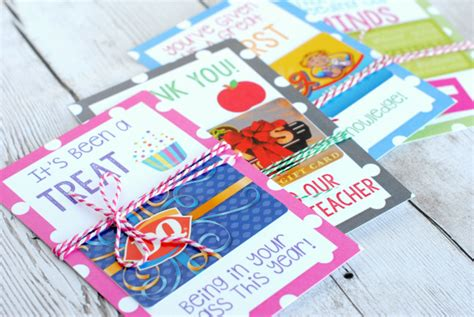 Gift Card Holder Ideas For Teachers - teacher appreciation gift card holders skip to my lou