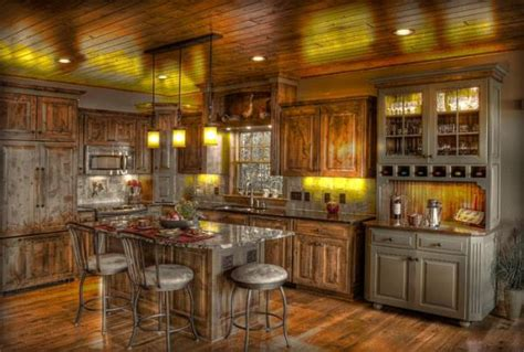 rustic home kitchen design amazing kitchens design with rustic elements home design