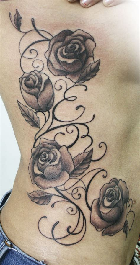 the rose tattoo monologue roses letters neoskull lettering script tattoos