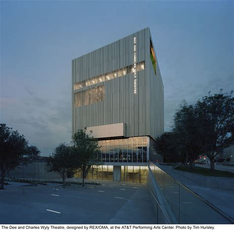 dee  charles wyly theatre rex oma archdaily