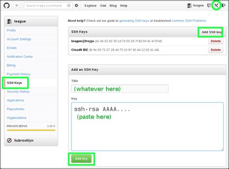 github tutorial on creating ssh keys liucs virtual machine generate an ssh key pair mac