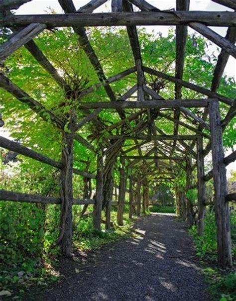 Garden Arbor Path Tunnel Path Rustic Arbor Arbors Tunnels