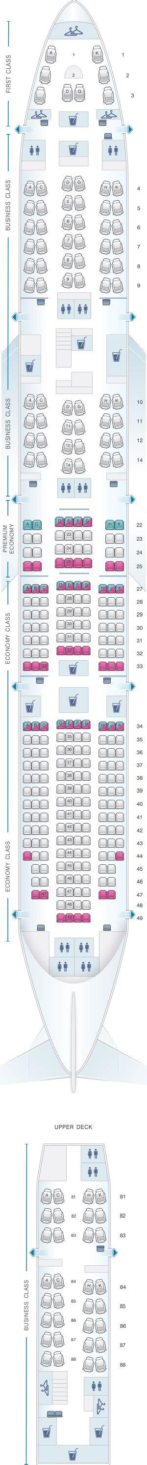 747 8 seat map seat map lufthansa boeing b747 8 340pax seatmaestro
