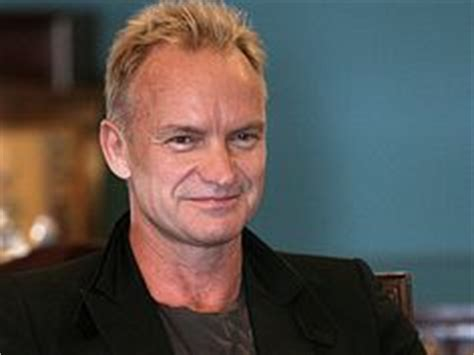 sting hairstyles sting has a receding hairline so he tends to wear his