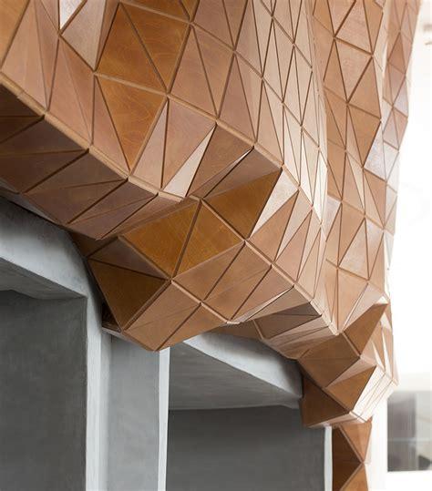 rigid yet flexible, wood skin redefines the possibilities