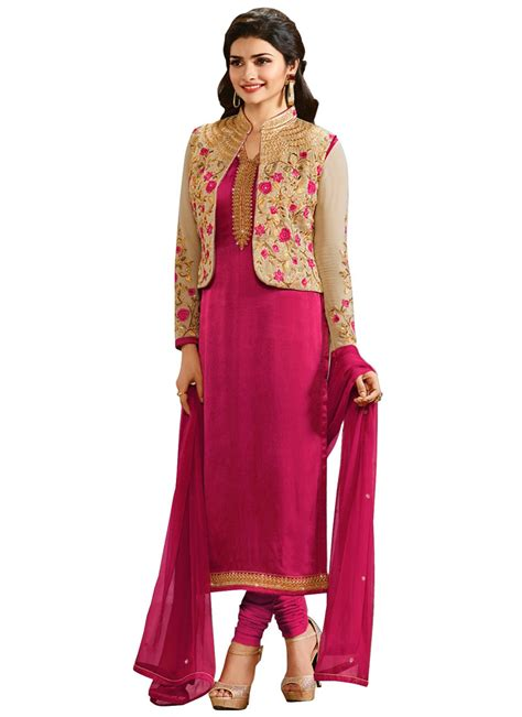 design of jacket salwar suit punjabi salwar kameez with short jacket 2017 designs images