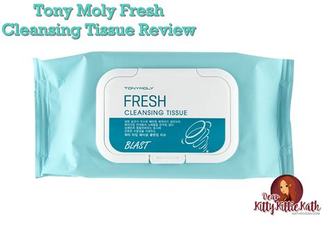 Tissue Detox by Product Review Tony Moly Fresh Cleansing Tissue Dear