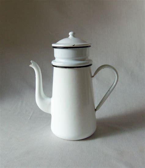 Coffee Pot vintage enamel coffee pot biggin omero home