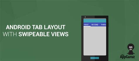 android studio swipe layout android tab layout with swipeable views tutorial