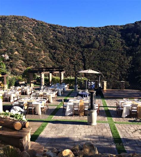 indoor outdoor wedding venues in los angeles the best san bernardino county wedding venues officiant