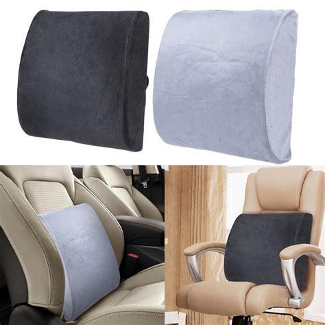 lumbar pillow for chair memory foam lumbar cushion travel pillow car seat home
