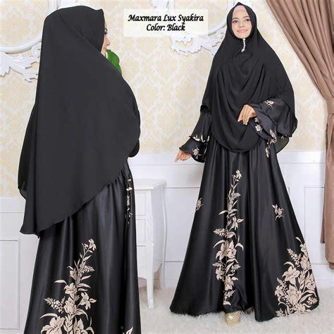 gamis terbaru syakira syari maxmara baju muslim modern