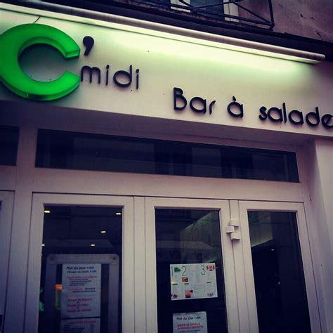 c midi bar 224 salade mp cuisine