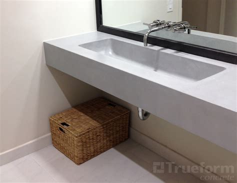 commercial bathroom vanity floating sink for commercial bathroom trueform decor