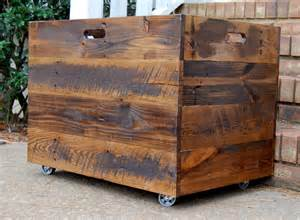 tall extra large wooden crate toy chest large storage box