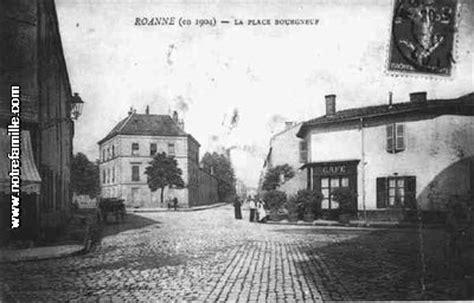 Support Carte Postale 1904 by Carte Postale La Place Bourgneuf Roanne En 1904 42300 De