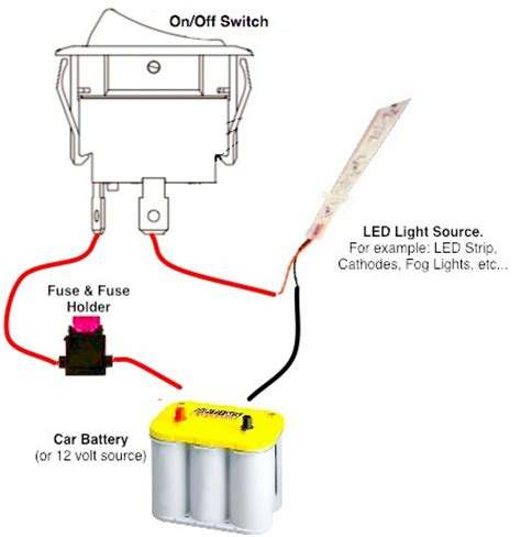 lighted rocker switch wiring wiring diagram with description