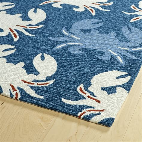 Colorful Outdoor Rug Colorful Crabs Indoor Outdoor Rug Shades Of Light