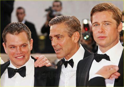 Get Brad And Matts Oceans 13 Shades by Sized Photo Of Brad Pitt George Clooney Matt Damon