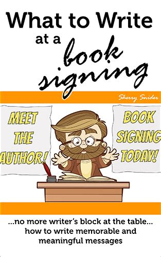 what to write at a book signing cottaquilla press