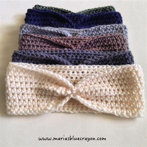 Ear Warmer simple crochet ear warmer free pattern for beginners