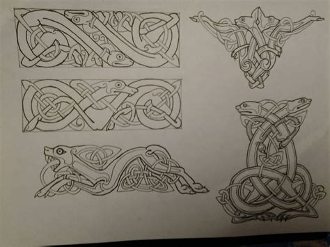 ancient viking tattoos 33 besten norse mythology symbols tattoos bilder auf