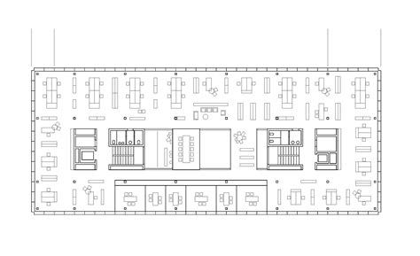 floor plan of an office gallery of office building 200 nissen wentzlaff