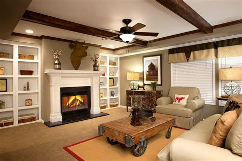 mobile home decorating blogs top 4 manufactured home fireplace designs by clayton