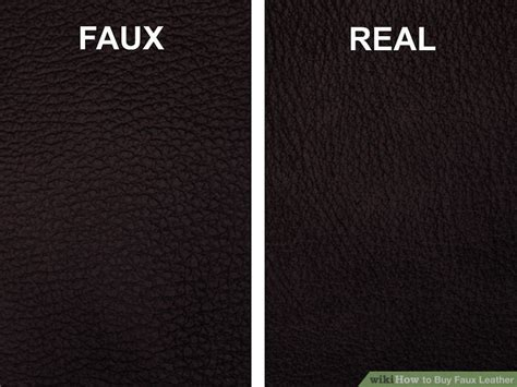 What To Look For When Buying A Leather Sofa 3 Ways To Buy Faux Leather Wikihow