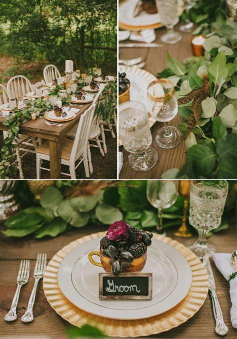 40 stunning woodland forest wedding reception ideas