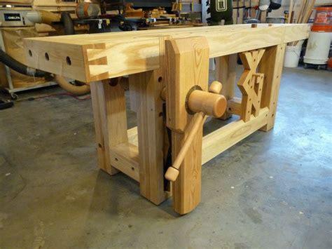 workbench   month wood vise screw  wooden vise