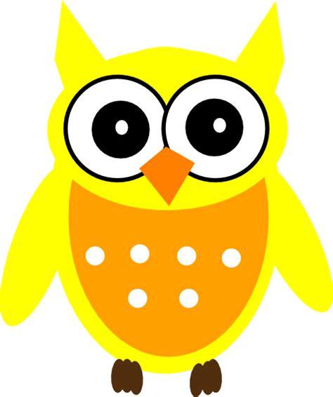 Piyama Wanita Owl Family Yellow yellow owl clip at clker vector clip royalty free domain