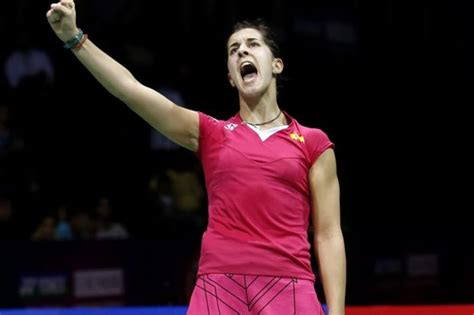 Badminton Marin The Tigress Never Say Die On Court The