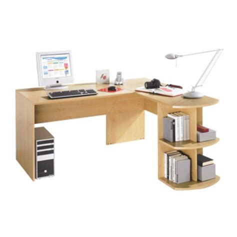 Staples Desks by Sun Beech Collection Corner Desk And Return Staples 174