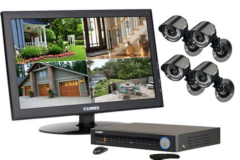 complete home security system with outside cameras