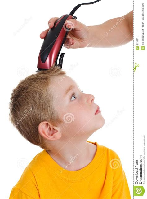 youtube young boys getting haircuts young boy getting haircut stock image image of clipper