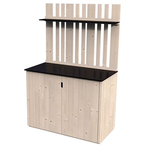 mensole da esterno legnaie in legno da esterno chiuse casette in legno