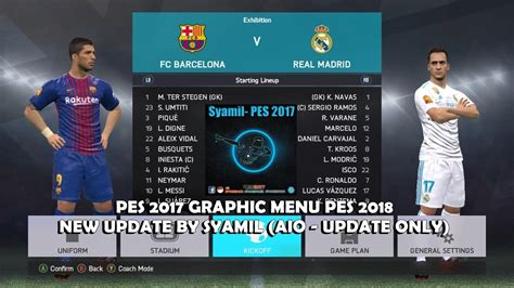 Pes 2018 Include Patch Terbaru patch pes 2018 5 1 terbaru free software and shareware