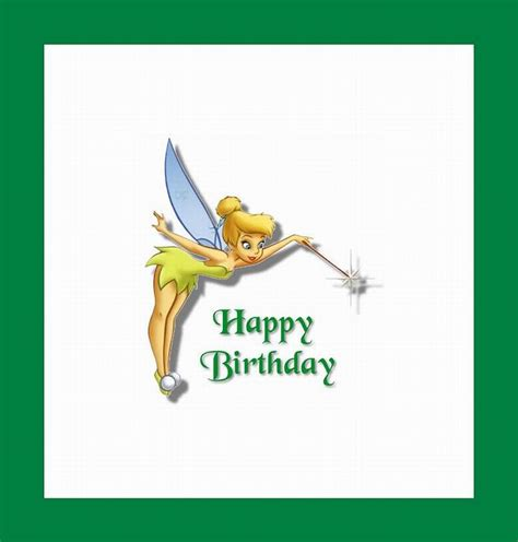 Seprai Tingker Bell Happy Pink 3 tinkerbell birthday quotes quotesgram