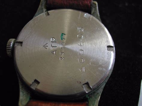 army trade pattern watch ww2 leonidas atp army trade pattern watch circa 1940