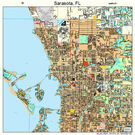 sarasota map startravelinternational