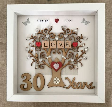 Wedding Anniversary Number Gifts by Best 25 Pearl Wedding Anniversary Gifts Ideas On