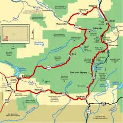 colorado scenic drives map top 5 scenic drives to explore colorado s spectacular fall