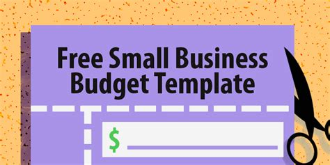 Free Small Business Budget Template Capterra Blog Small Business Budget Template Free