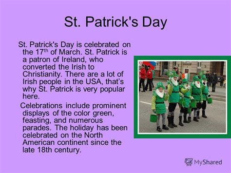 st s day america vs ireland презентация на тему quot holidays in the usa every nation