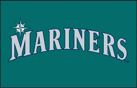 seattle transfer color seattle mariners 1995 1996 jersey logo letter number