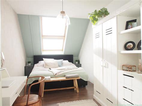 Smalle Slaapkamer Inrichten by Shop The Look Binnenkijken In Susanne S Slaapkamer