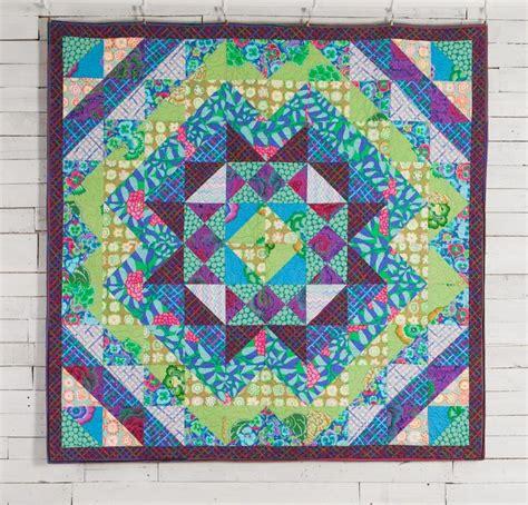 Kaffe Fassett Patchwork Kits - rowan kaffe fassett collective hedge maze quilt kit maze