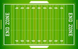 zone nfl de football am 233 ricain photographie stock image